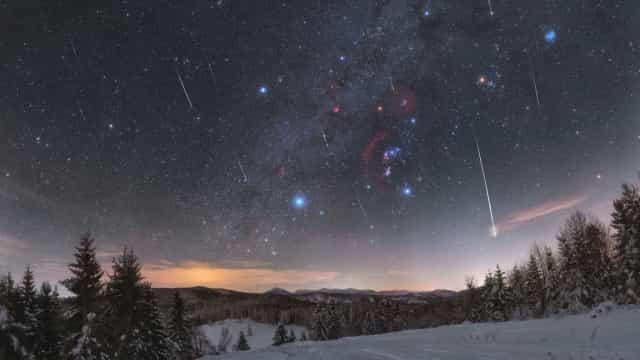 NASA mostra céu estrelado como nunca se viu