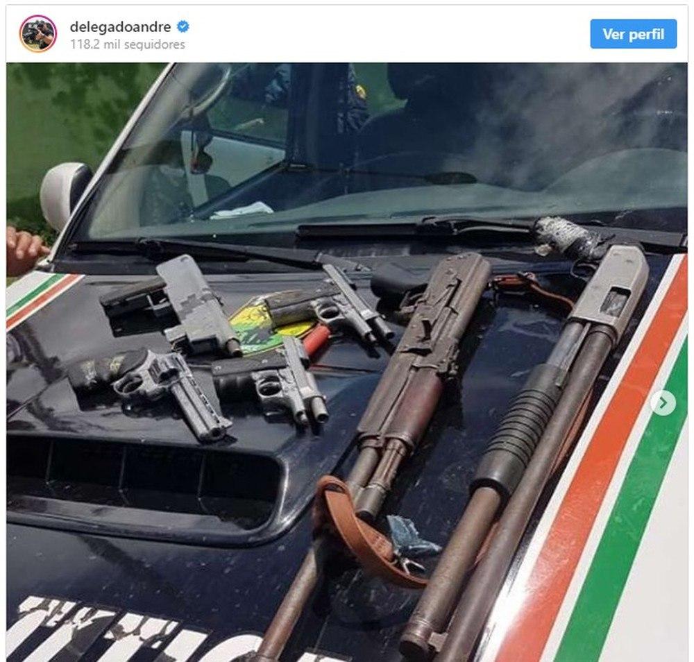 Homem faz comentário com ameaças em post de secretário da segurança do Ceará e é preso