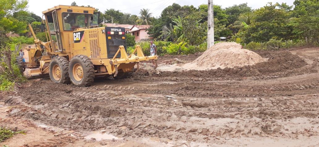 Seagri recupera estradas vicinais durante o período de Carnaval