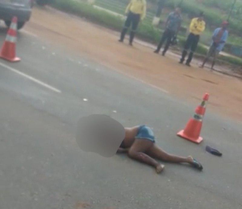 Acidente de trânsito na Avenida Padre Cícero em Crato-CE deixa mulher gravemente ferida