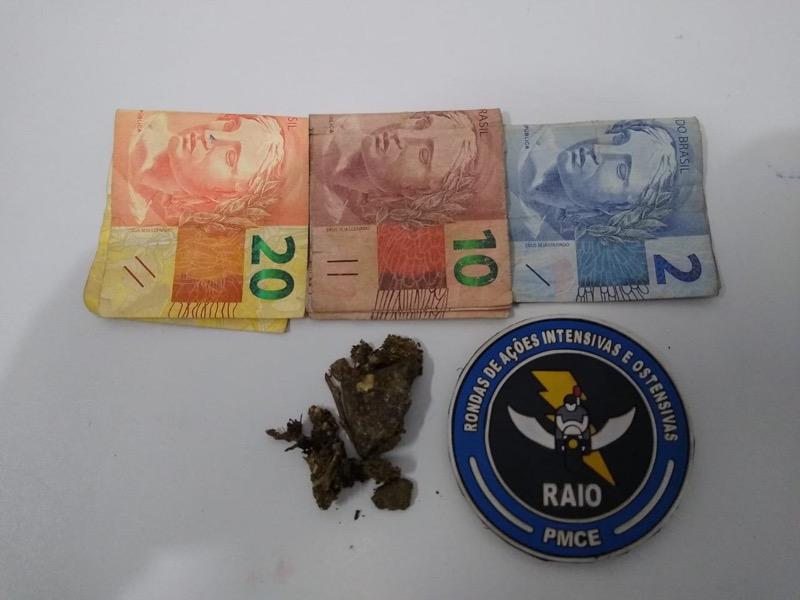 Operações do BPRAIO resulta em drogas apreendidas na cidade de Crato-CE