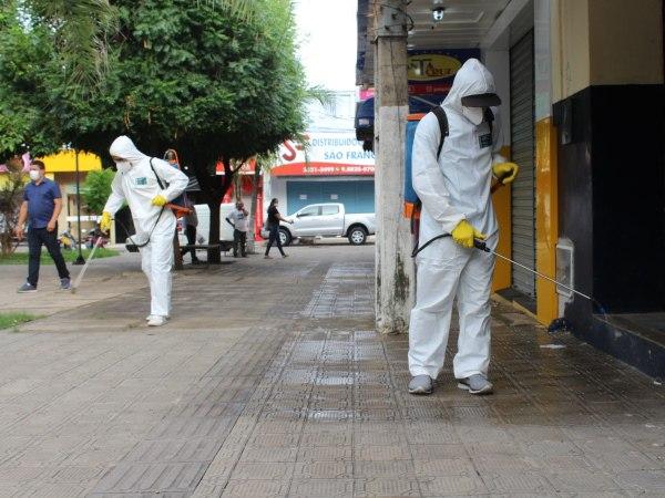 Prefeitura inicia higienização de áreas públicas do Crato