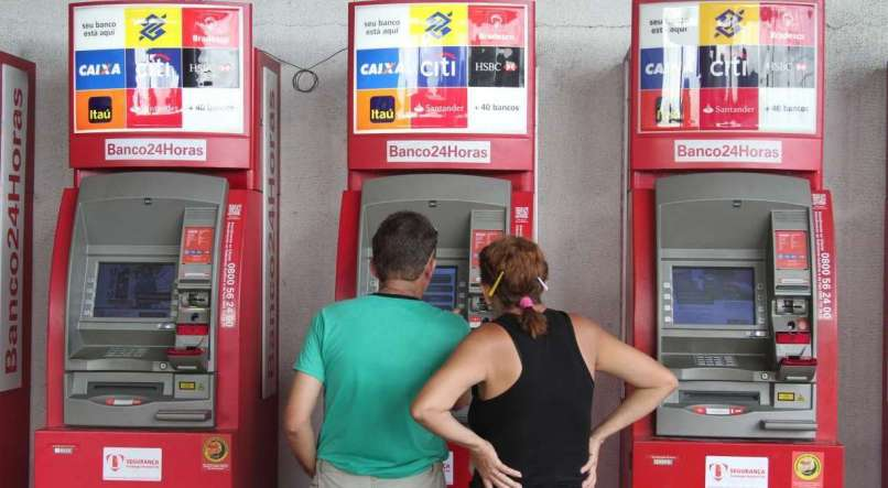 Banco24Horas vai oferecer opção de saque nos caixas eletrônicos para o auxílio de R$ 600. Só falta o crédito