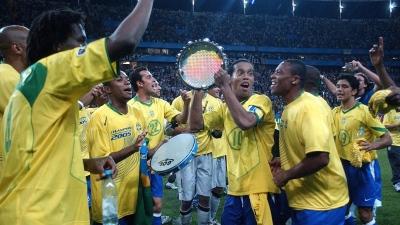 TV Verdes Mares relembra Brasil x Argentina pela final da Copa das Confederações de 2005