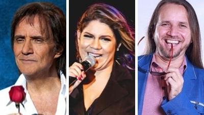 Primeira semana de maio tem lives de Roberto Carlos, Marília Mendonça e Dorgival Dantas