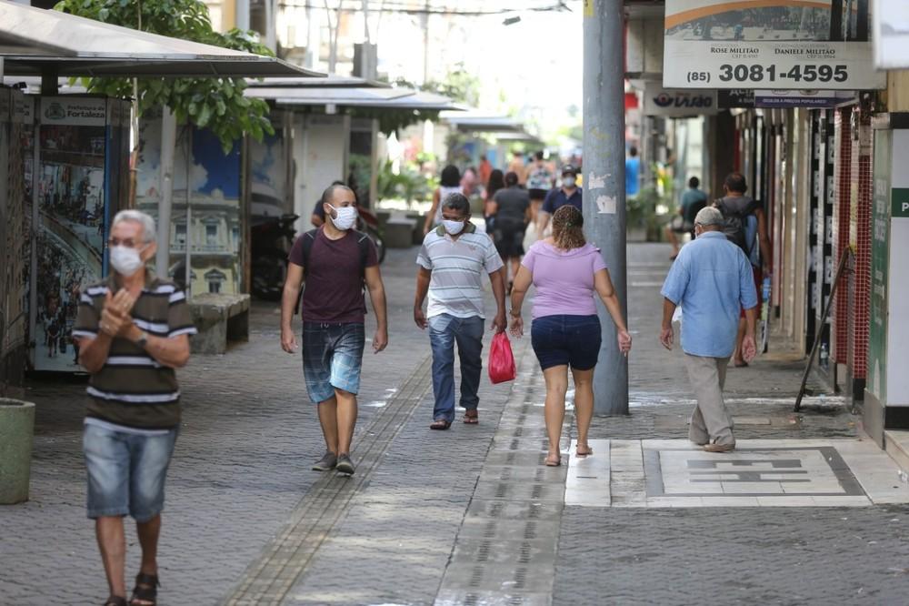 Atividade econômica no Ceará será retomada nesta segunda-feira em fase de transição; isolamento social continua