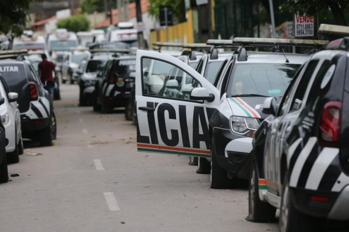 PMCE apreende veículos adulterados em ações com apoio do Spia