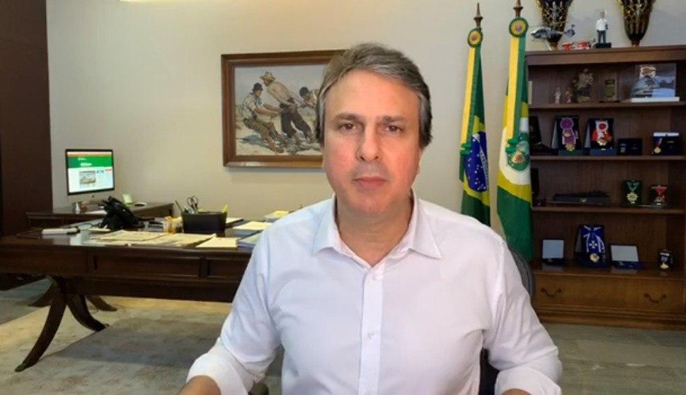 Camilo desaconselha participação em atos populares: 'Há no Ceará um decreto que proíbe aglomerações'