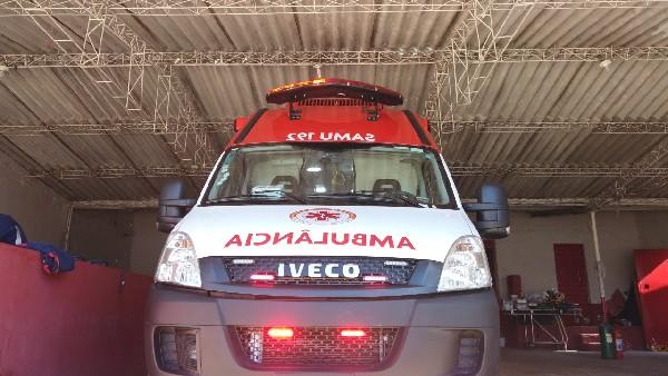 Crato recebe nova ambulância do SAMU para atendimentos de pacientes com a covid-19