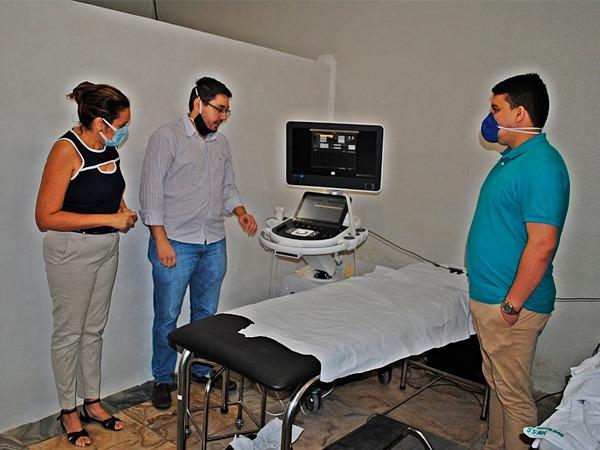 Prefeitura de Santana do Cariri adquire aparelho de ultrassonografia e otimiza atendimento a população