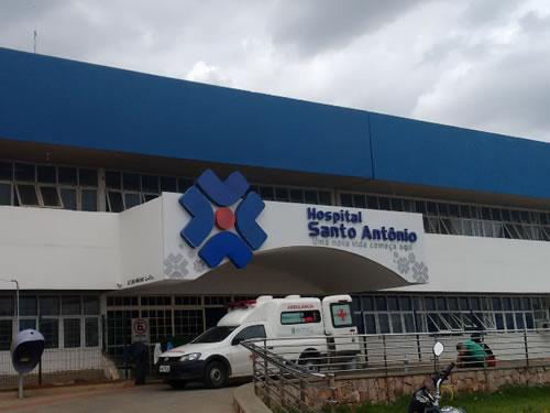 A cada 10 pacientes que entram na Ala Covid do Hospital Santo Antônio, 3 são da zona rural