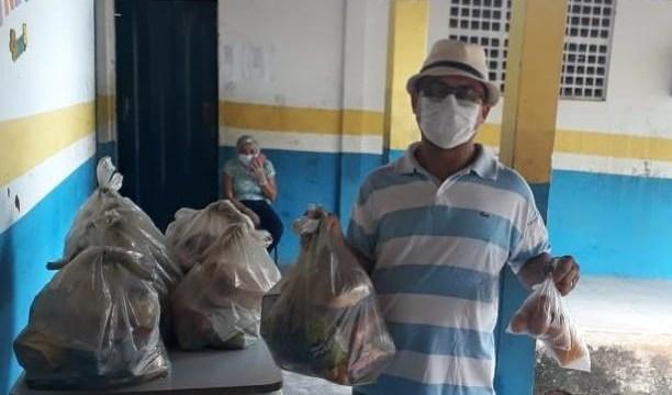 Mais 10 mil kits de merenda são entregues em Barbalha