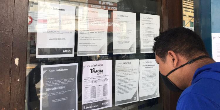 Agência bancária passa por desinfecção após suspeita de servidores com Covid-19 em Crato
