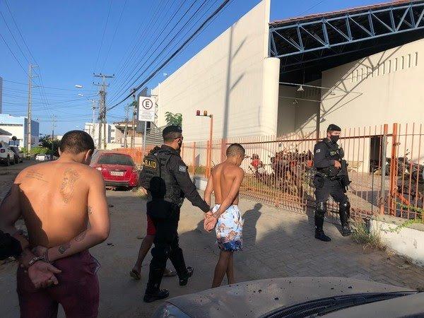 Membros de facção criminosa são presos no Ceará em operação coordenada nacionalmente