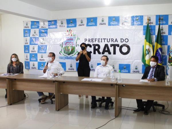 Gestão cratense apresenta instituições que será responsável pela realização do concurso público municipal