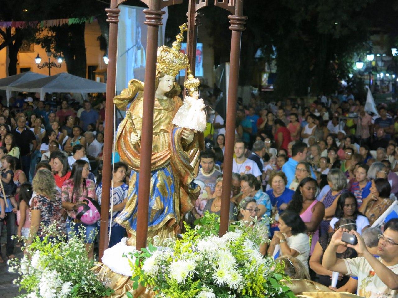 Festa de Nossa Senhora da Penha celebra 100 anos da entronização da Imagem na Sé Catedral de Crato