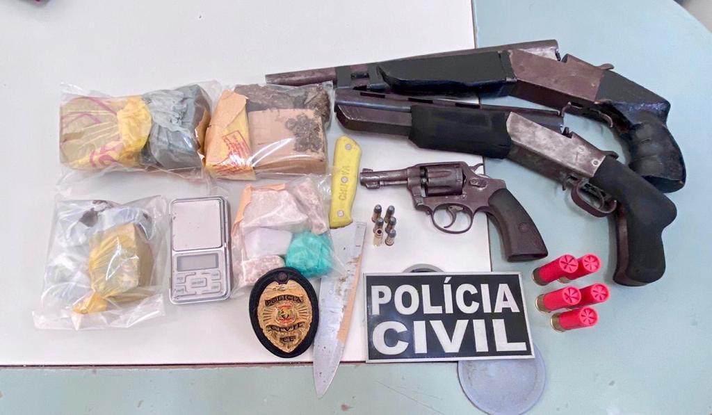 Integrante de facção criminosa é preso em operação da Polícia Civil em Crato