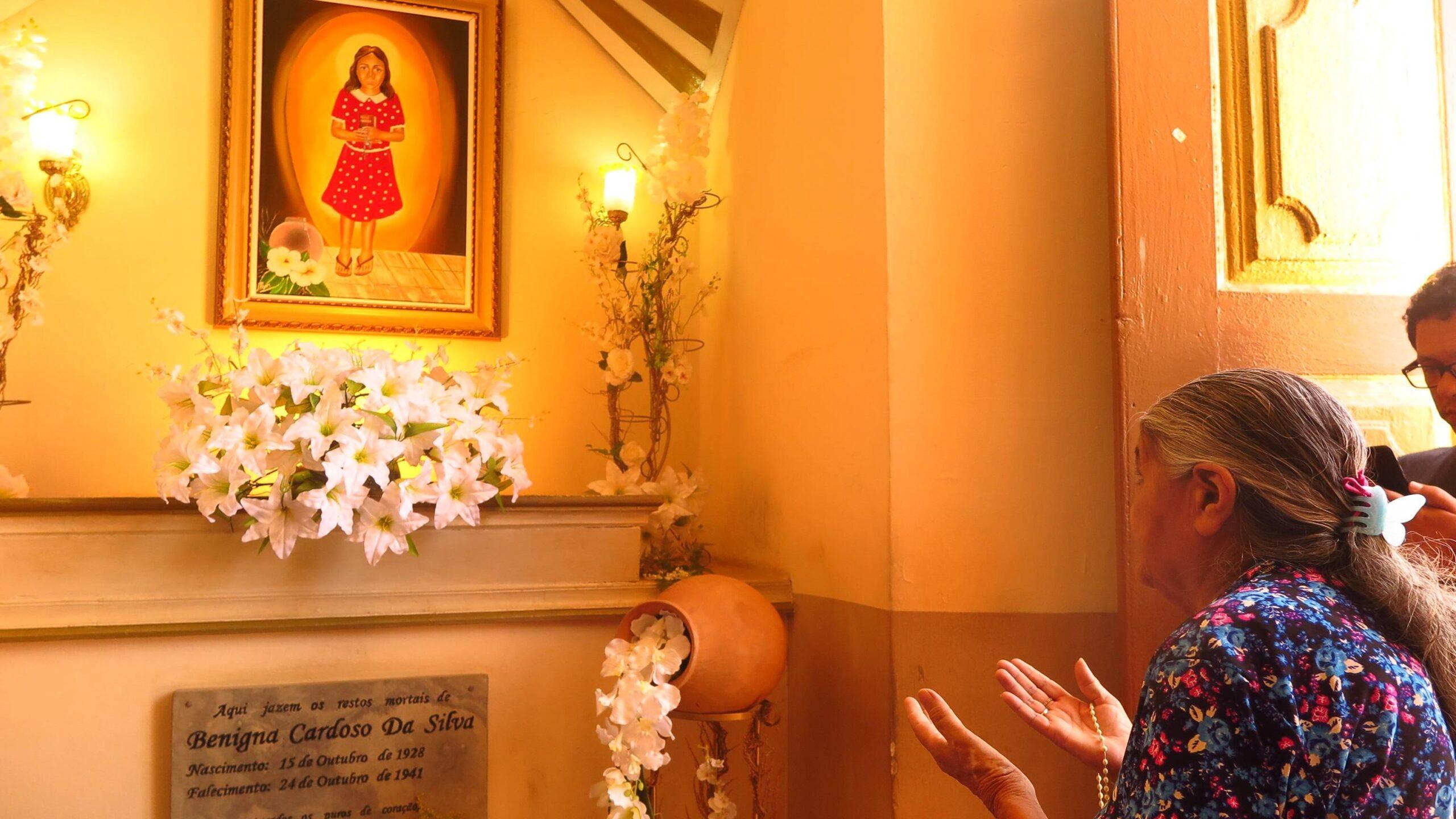 Por causa da pandemia, beatificação de Mártir Benigna é oficialmente adiada