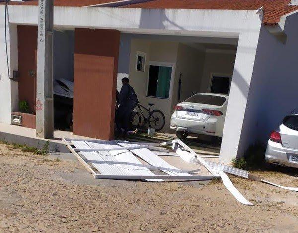 Após discussão, mulher atropela suposta amante do marido em Guaraciaba do Norte