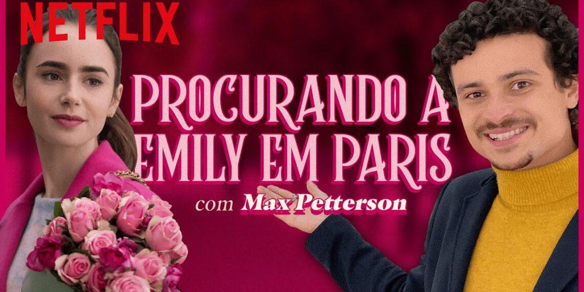 Max Petterson apresenta história de personagem de série em Paris a convite da Netflix