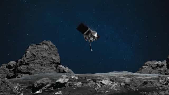 Pesquisadores descobrem sinais de água em asteroide