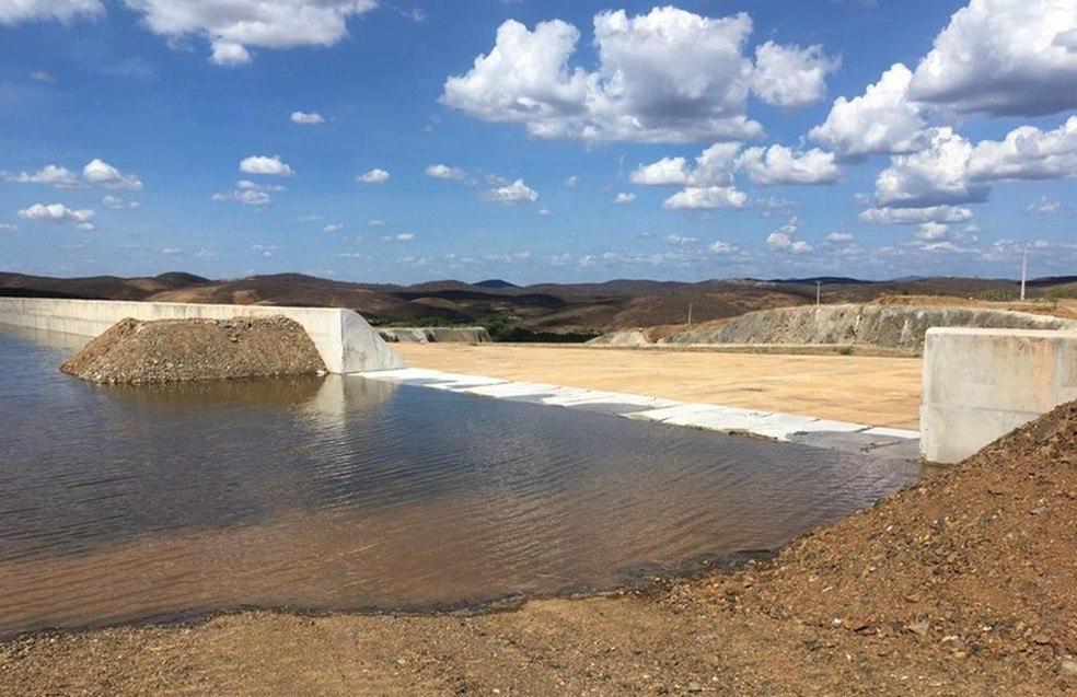 Brejo Santo passa a receber águas da transposição do Rio São Francisco