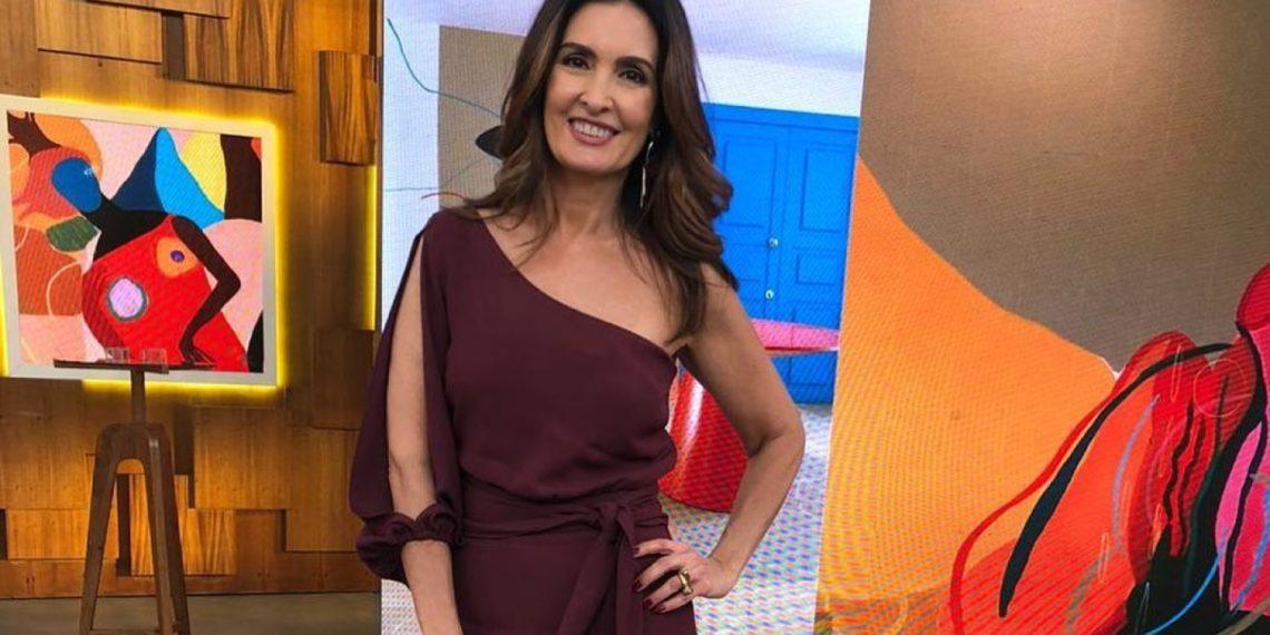 Fátima Bernardes passa bem após cirurgia para tratar câncer no útero