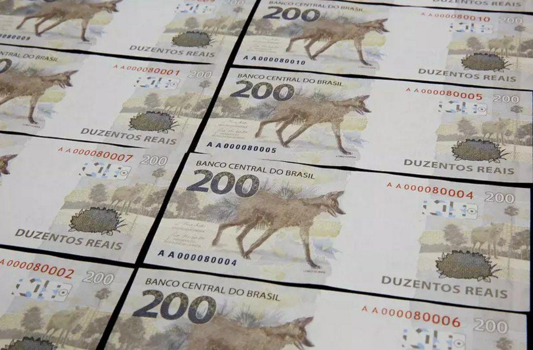 Notas de R$ 200 encalham e menos de 10% do prometido circula na economia