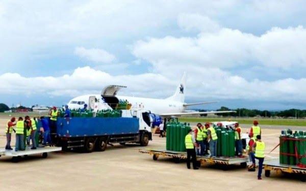 Gusttavo Lima posta envio de oxigênio de Goiânia para pacientes com Covid-19 em Manaus