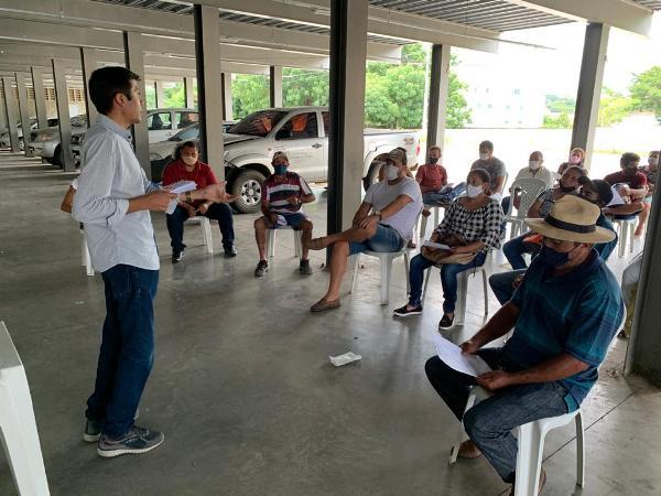 Agricultores familiares do Crato recebem capacitação sobre atuação no PAA 2021