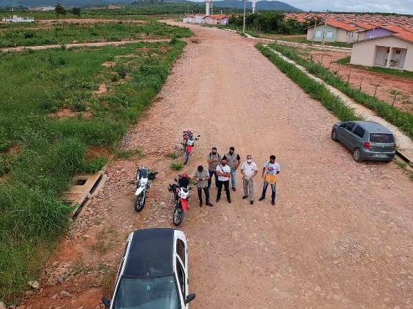 Endemias do Crato usa drone para identificar possíveis focos do AEDES AEGYPTI e orienta moradores