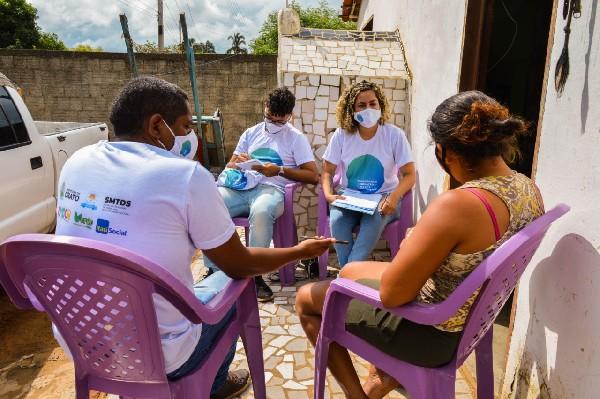 Cras do Crato e projeto verde vida realizam diagnóstico da situação da criança e do adolescente no município