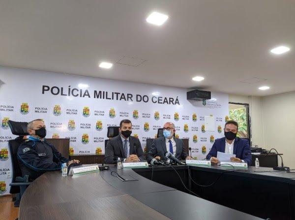 Suspeitos de matar PM em Fortaleza foram presos quando jogavam futebol, diz polícia