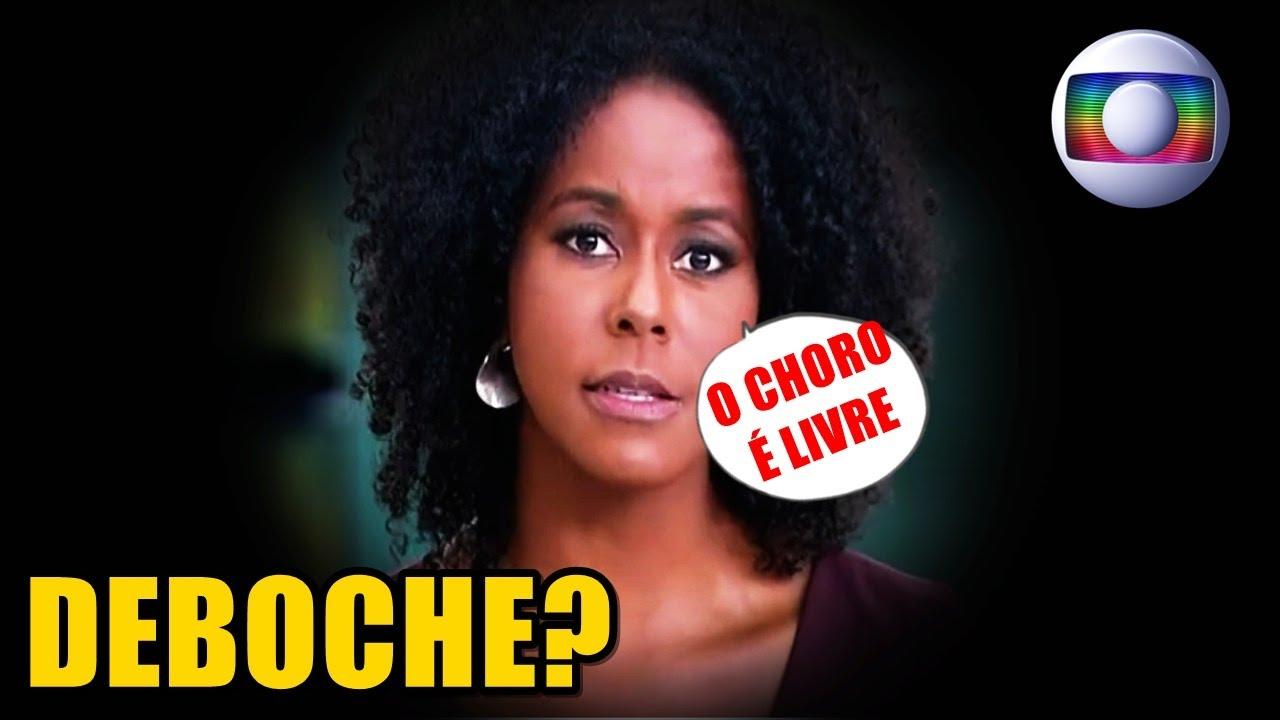 'O CHORO É LIVRE': Maju Coutinho é acusada de debochar de brasileiros durante o Jornal Hoje