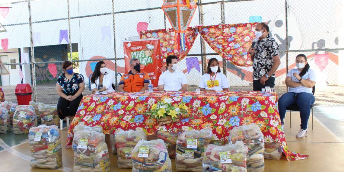 Governo de Barbalha inicia distribuição de 1 mil cestas básicas para famílias vulneráveis