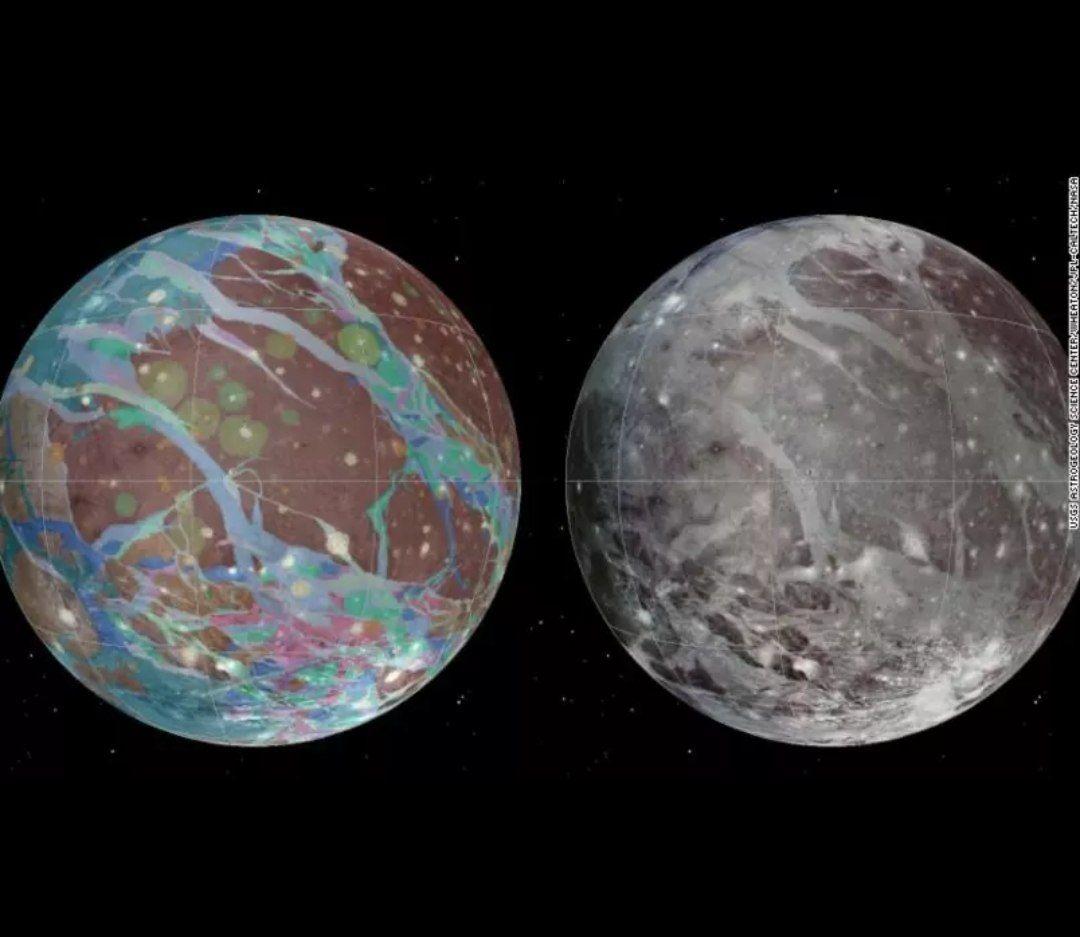 Sonda da Nasa chega à maior lua de Júpiter nesta segunda-feira (7)