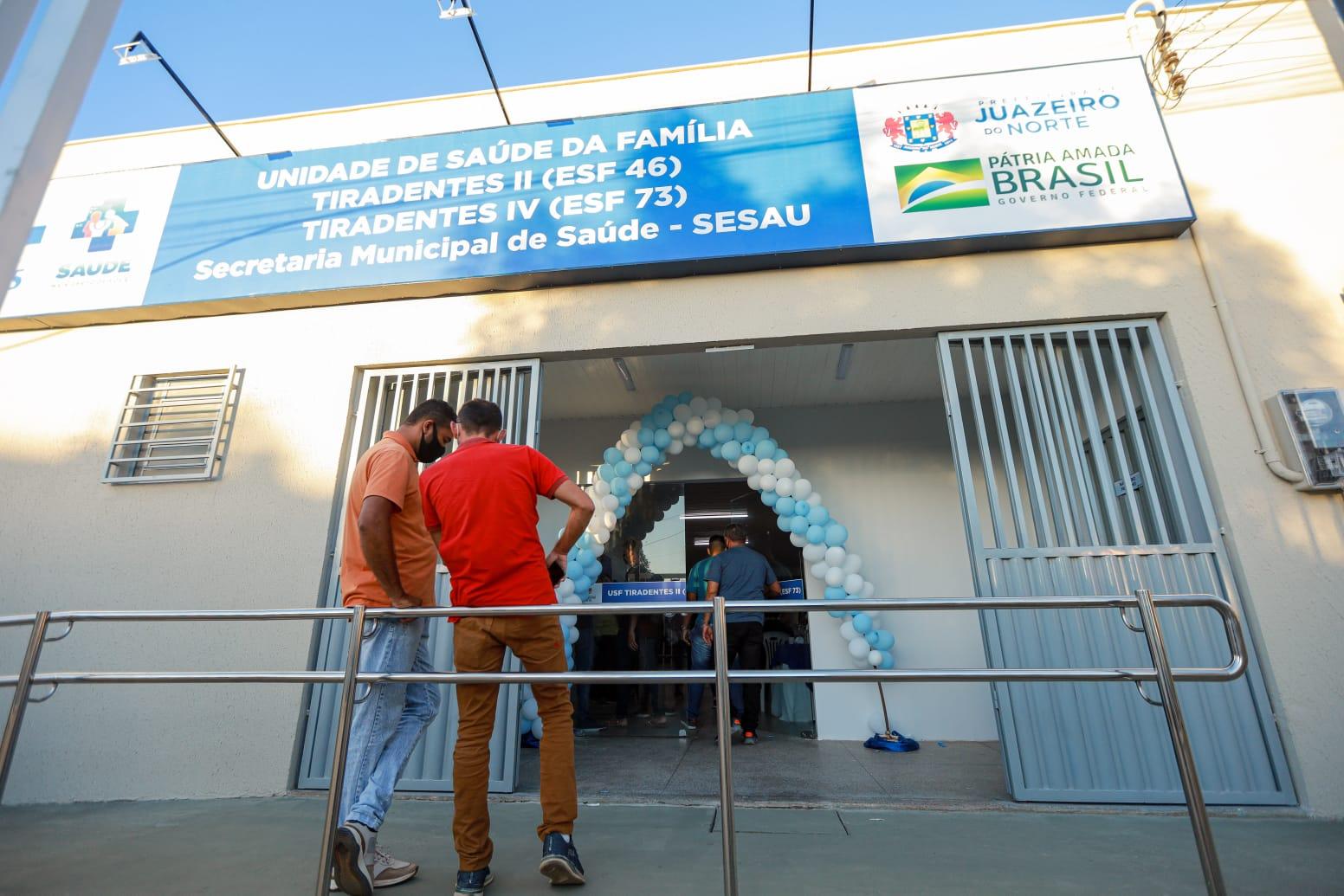 Unidade Básica de Saúde do Tiradentes é reinaugurada