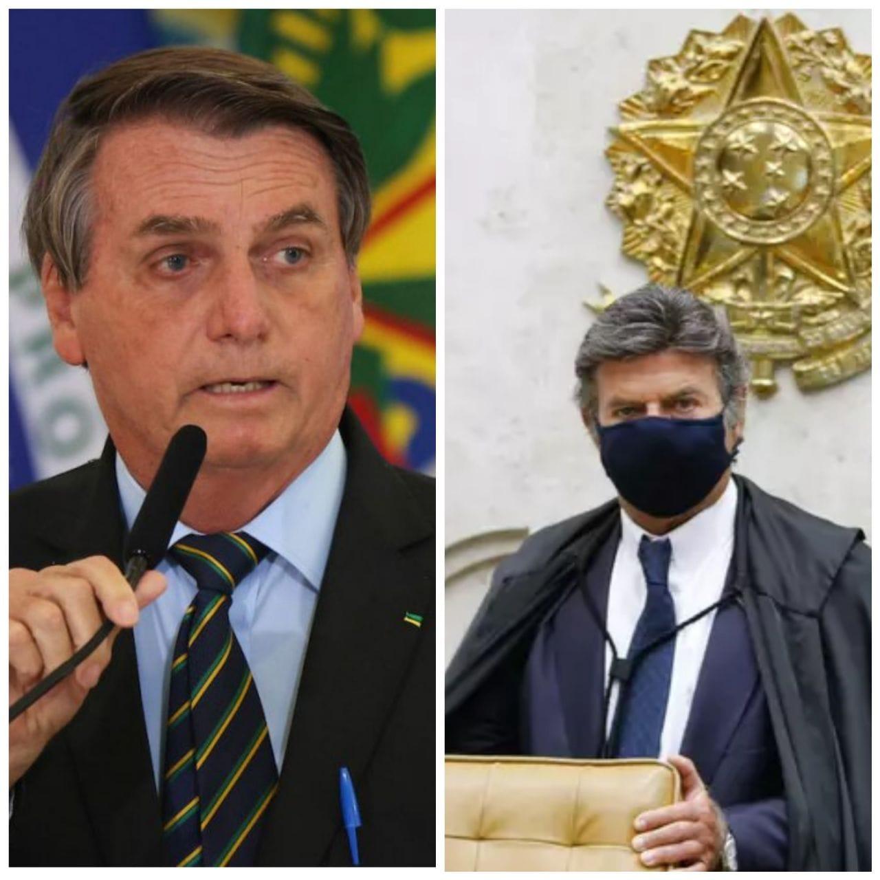 Bolsonaro ataca integrantes do STF e cancela reunião entre Poderes, diz Fux