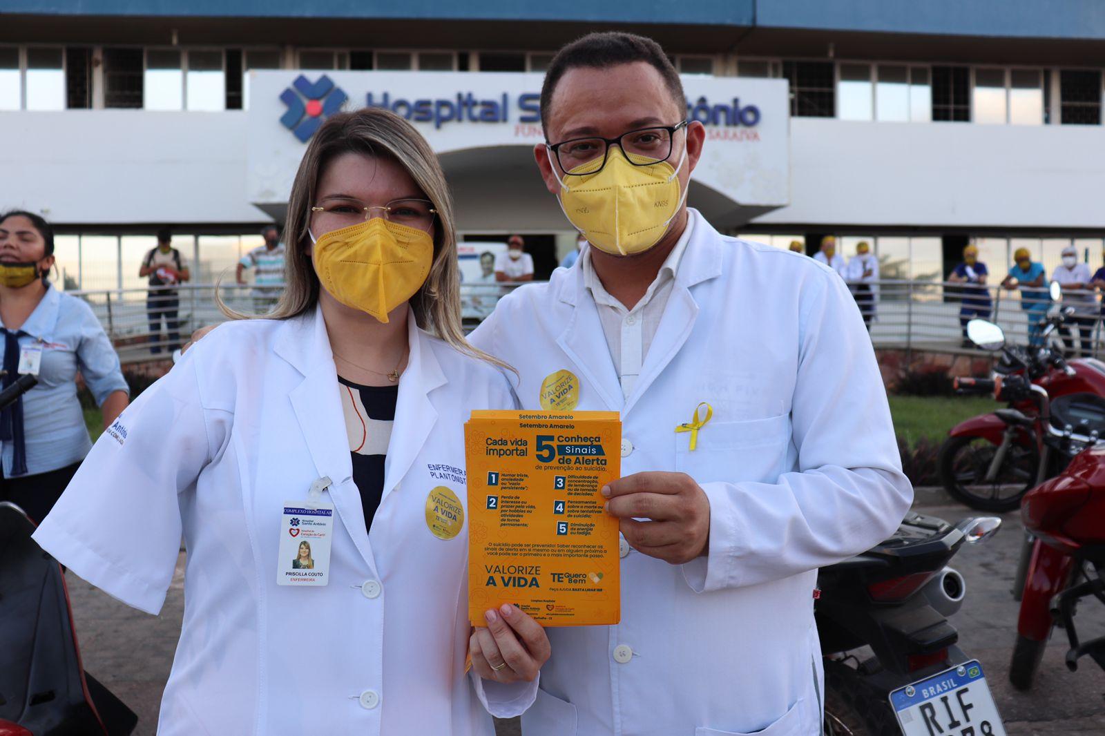 """Neste """"Setembro Amarelo"""", Hospitais Santo Antônio e Coração têm programação especial pela valorização da vida"""